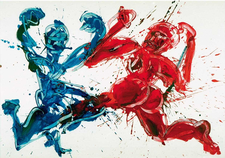1996 040 Tanz, aggressiv
